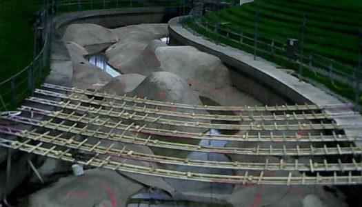 Sperrungen Eiskanal / Olympia-Strecke