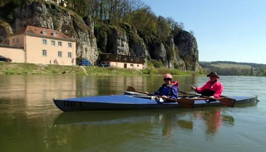 Anpaddeln auf der Donau 2015