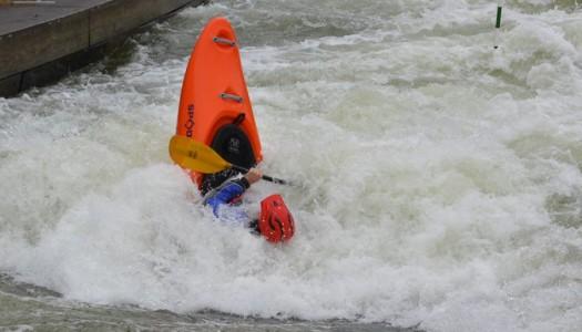 Trainingsfahrten Eiskanal und Donau